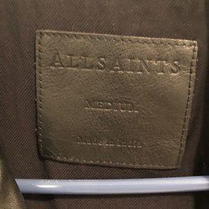 Allsaints Leather Jacket (Only worn twice!)